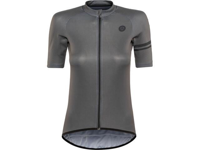 AGU Essential Jersey korte mouwen Dames, iron grey